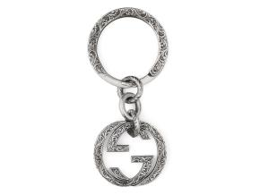 Interlocking G keyring