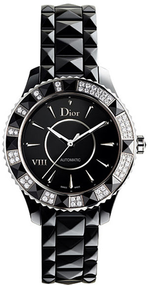 Christian Dior V111 33 MM, Quartz Movement, Ceramic Dial