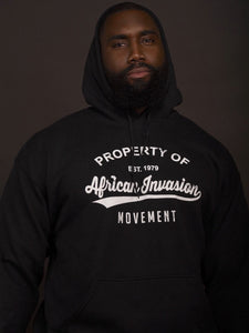 Property of African Invasion Movement Hoodie