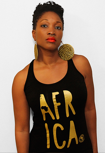 Africa Ladies Tank Top