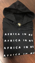 "Africa In Me ""Text"" Hoodie"