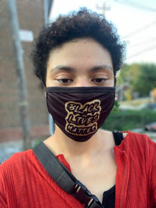 Black Lives Matter Mask (unisex)