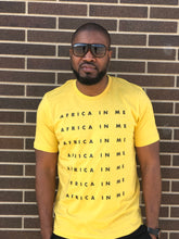 "Africa In Me ""text"" T-Shirt Unisex"