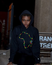 Africa Red Yellow Green Hoodie  (unisex) - Poetic Truth