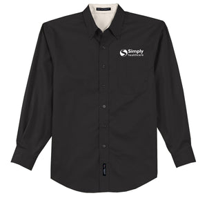 Men's Port Authority Easy Care Long Sleeve Shirt