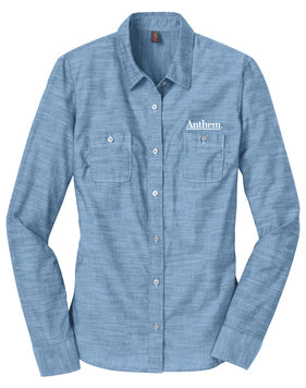 Port Authority® Ladies Slub Chambray Shirt