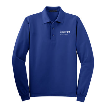 Port Authority® Silk Touch™ Long Sleeve Polo