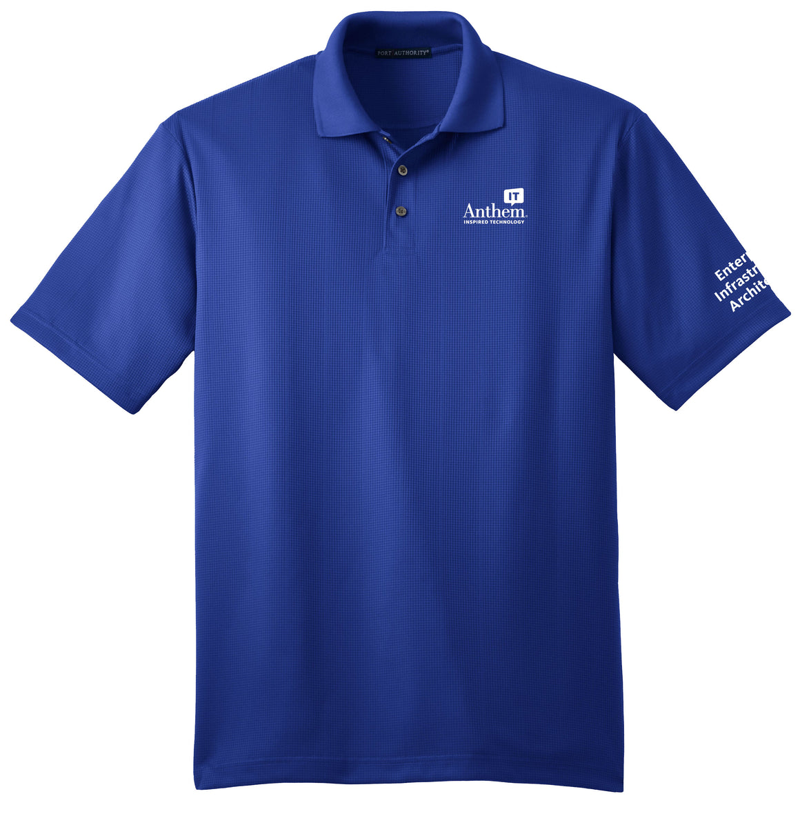 Men's Port Authority Performance Fine Jacquard Polo Shirt - EIA