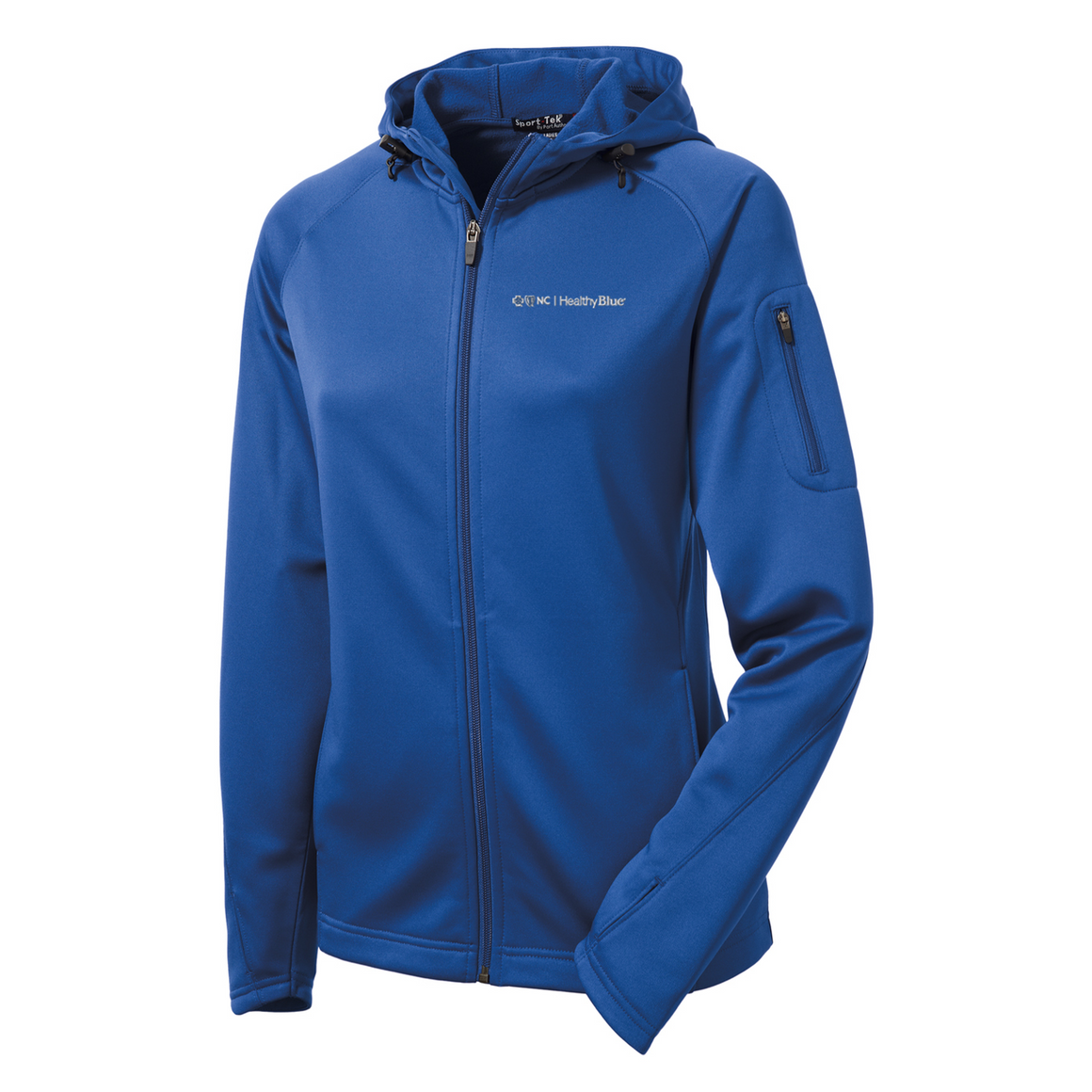 Ladies Sport-Tek® Tech Fleece Full-Zip Hooded Jacket