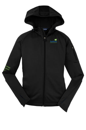 Ladies Sport-Tek® Tech Fleece Full-Zip Hooded Jacket - TOC