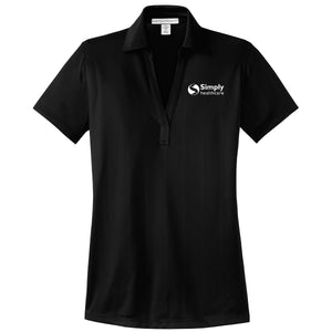 Ladies Port Authority Performance Fine Jacquard Polo