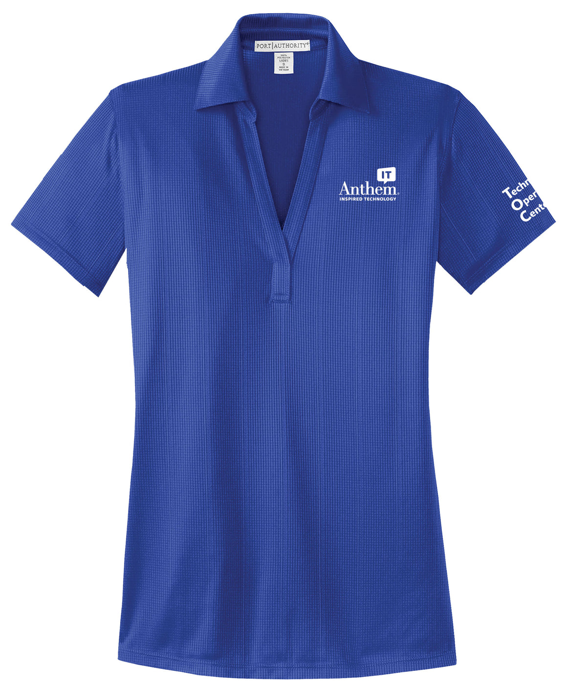 Ladies Port Authority Performance Fine Jacquard Polo - TOC