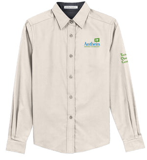 Ladies Port Authority Easy Care Long Sleeve Shirt - TOC