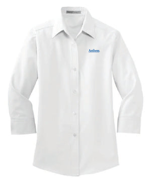 Port Authority® Ladies 3/4-Sleeve Easy Care Shirt