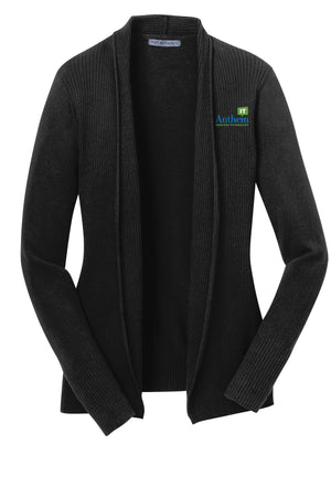 Ladies Port Authority Open Front Cardigan