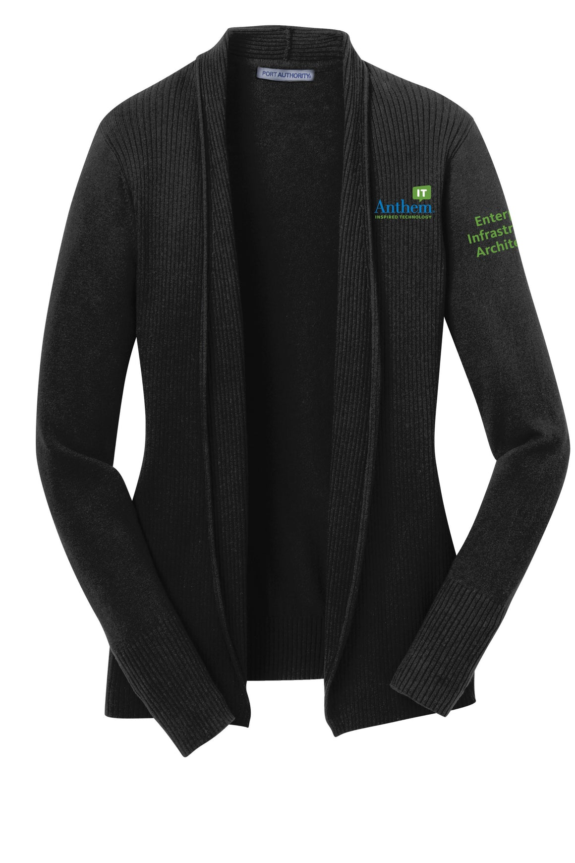 Ladies Port Authority Open Front Cardigan - EIA