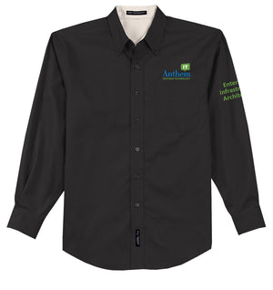 Men's Port Authority Easy Care Long Sleeve Shirt - EIA