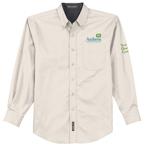 Men's Port Authority Easy Care Long Sleeve Shirt - TOC