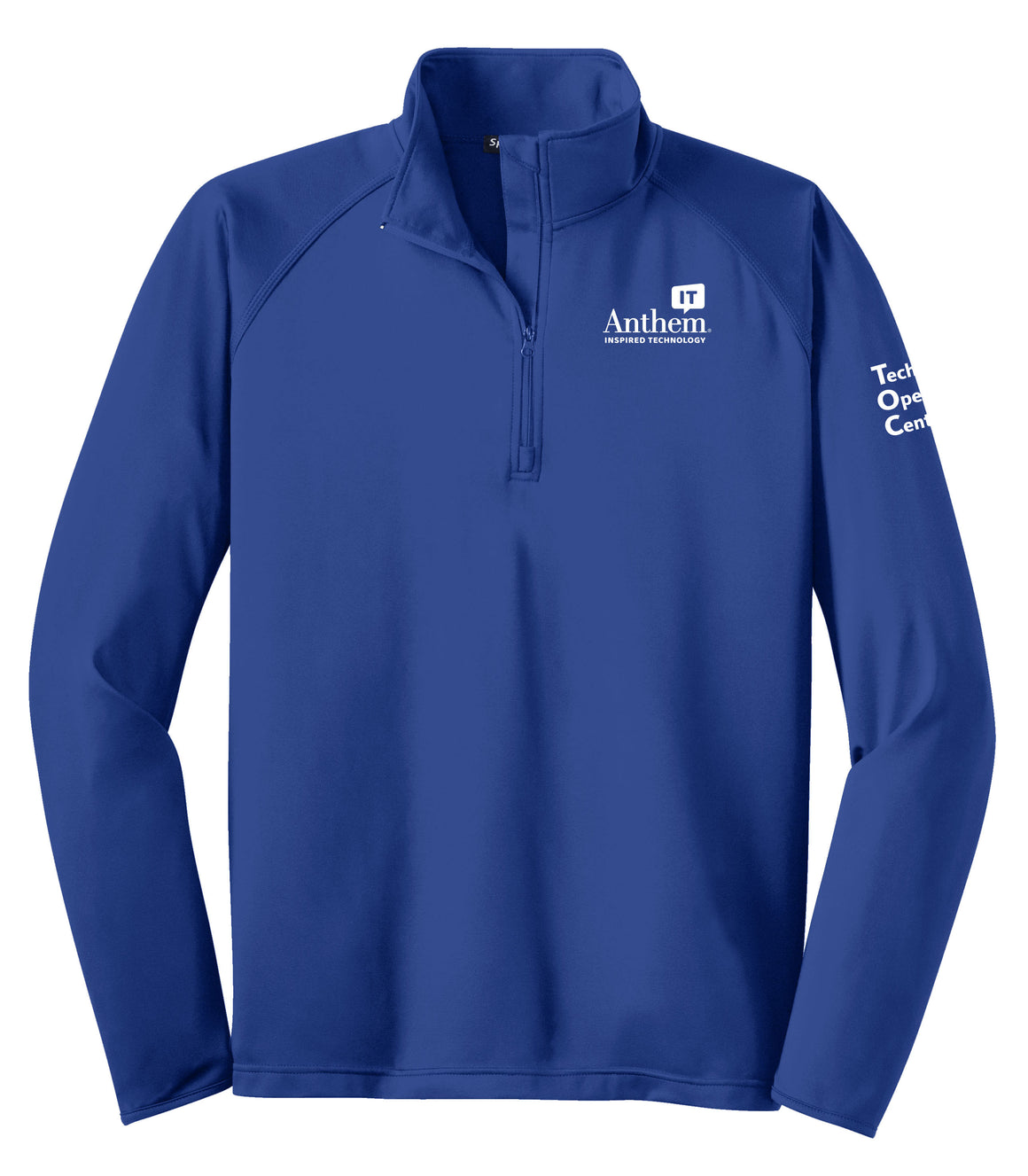 Men's Sport-Tek Sport-Wick Stretch 1/2 Zip Pullover - TOC