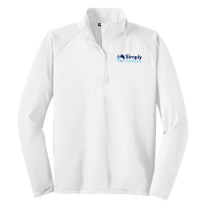 Men's Sport-Tek Sport-Wick Stretch 1/2 Zip Pullover