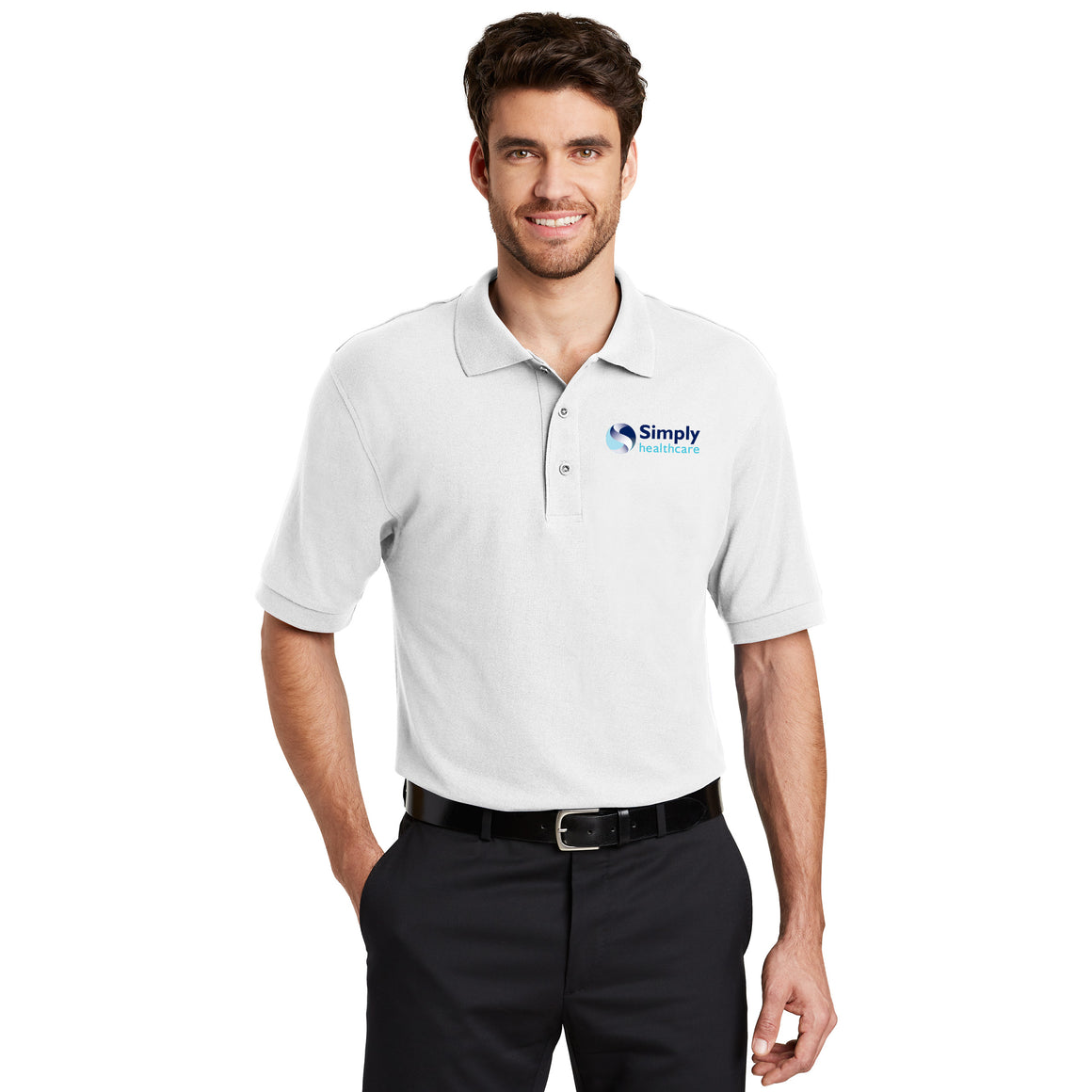 Men's Port Authority - Silk Touch PoloShirt (LT Sizing)