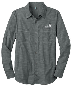 Men's Port Authority Slub Chambray Shirt