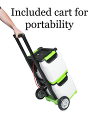 Genex Solutions - Nature's Generator and Nature's Power Pod on cart