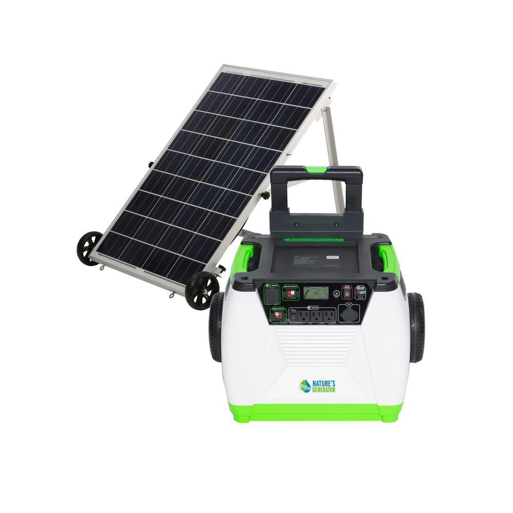 Genex Solutions - Nature's Generator Gold System - solar and wind rechargeable electric generator
