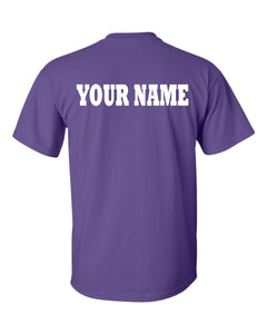 Custom Personalization Name for Team Gear