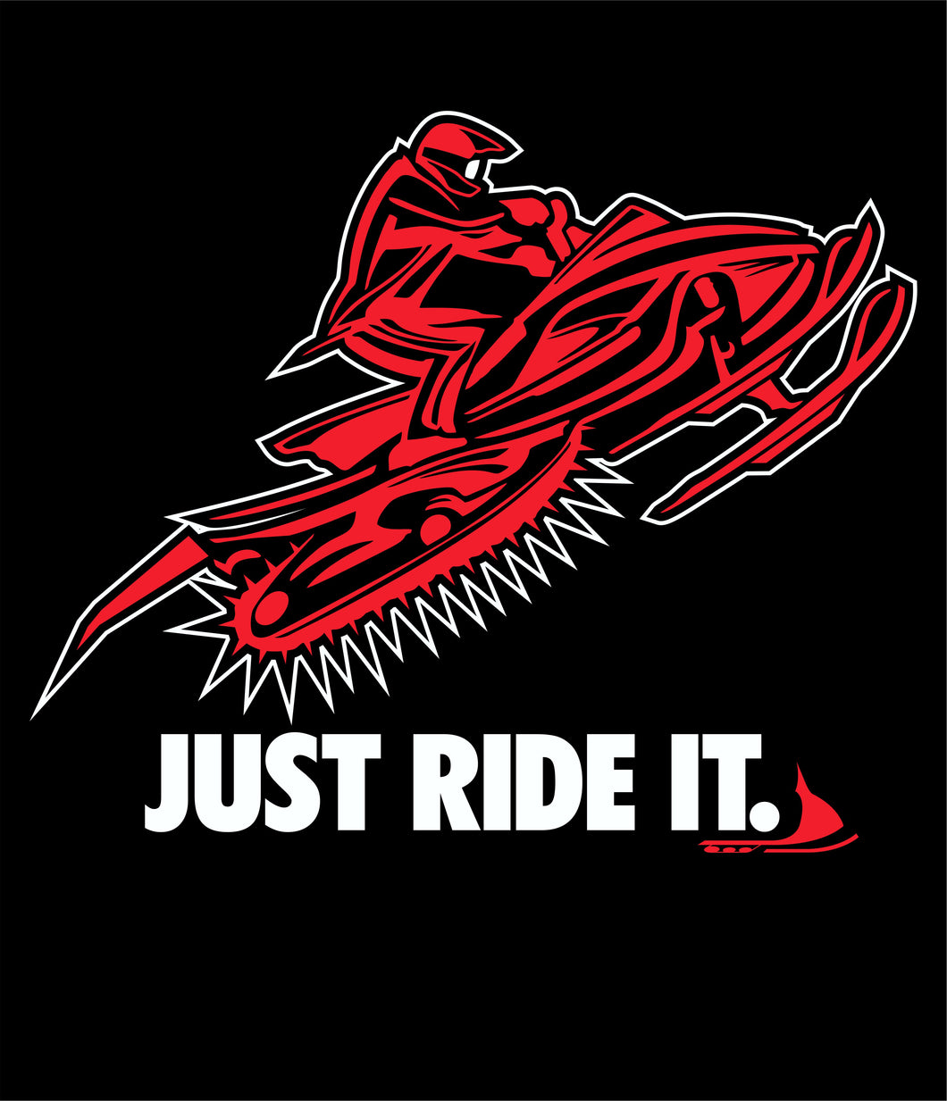 Just Ride It Red