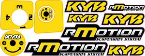 Ski Doo R-Motion Color Change Decal Kit
