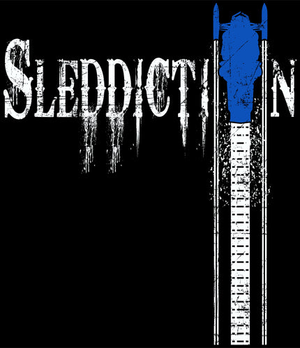 Sleddiction Apparel Blue