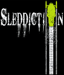 Sleddiction Apparel Green