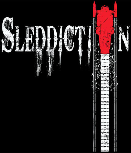 Sleddiction Apparel Red