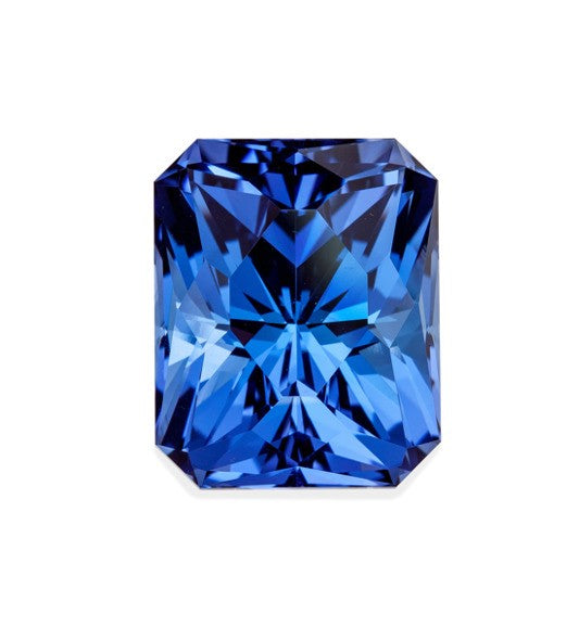 44.19 carat Tanzanite (radiant emerald cut)
