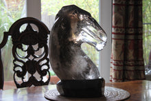Quartz Horse Head Carving