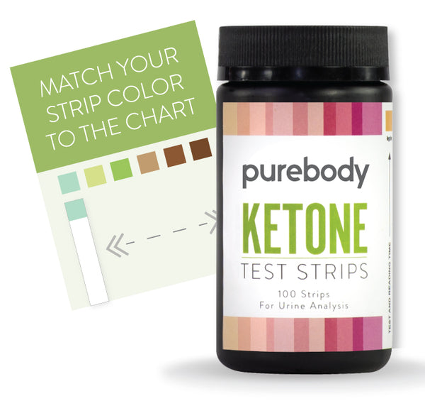 Pure Body Ketone Test Strips