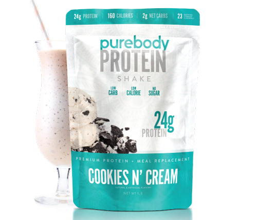 Pure Body Protein Cookies N' Cream