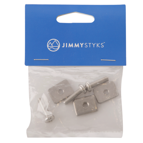 Jimmy Styks Fin Screws and Plates