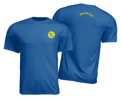 Men's Pickleball Performance Shirt – Blue