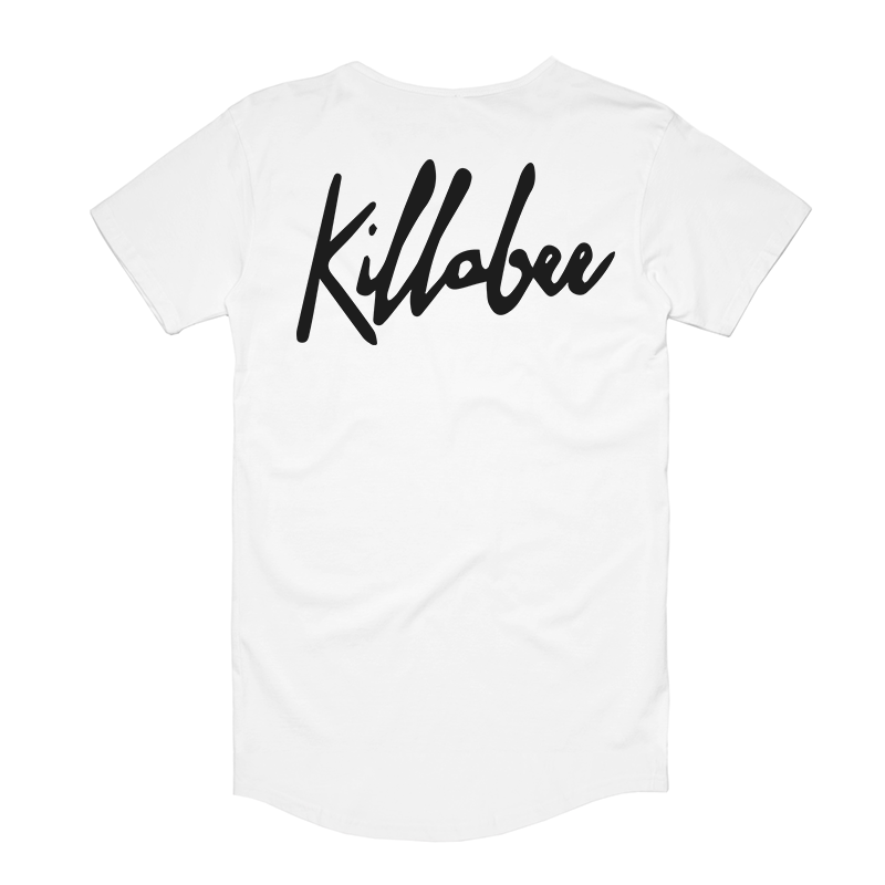 Killabee - Logo Tee - White