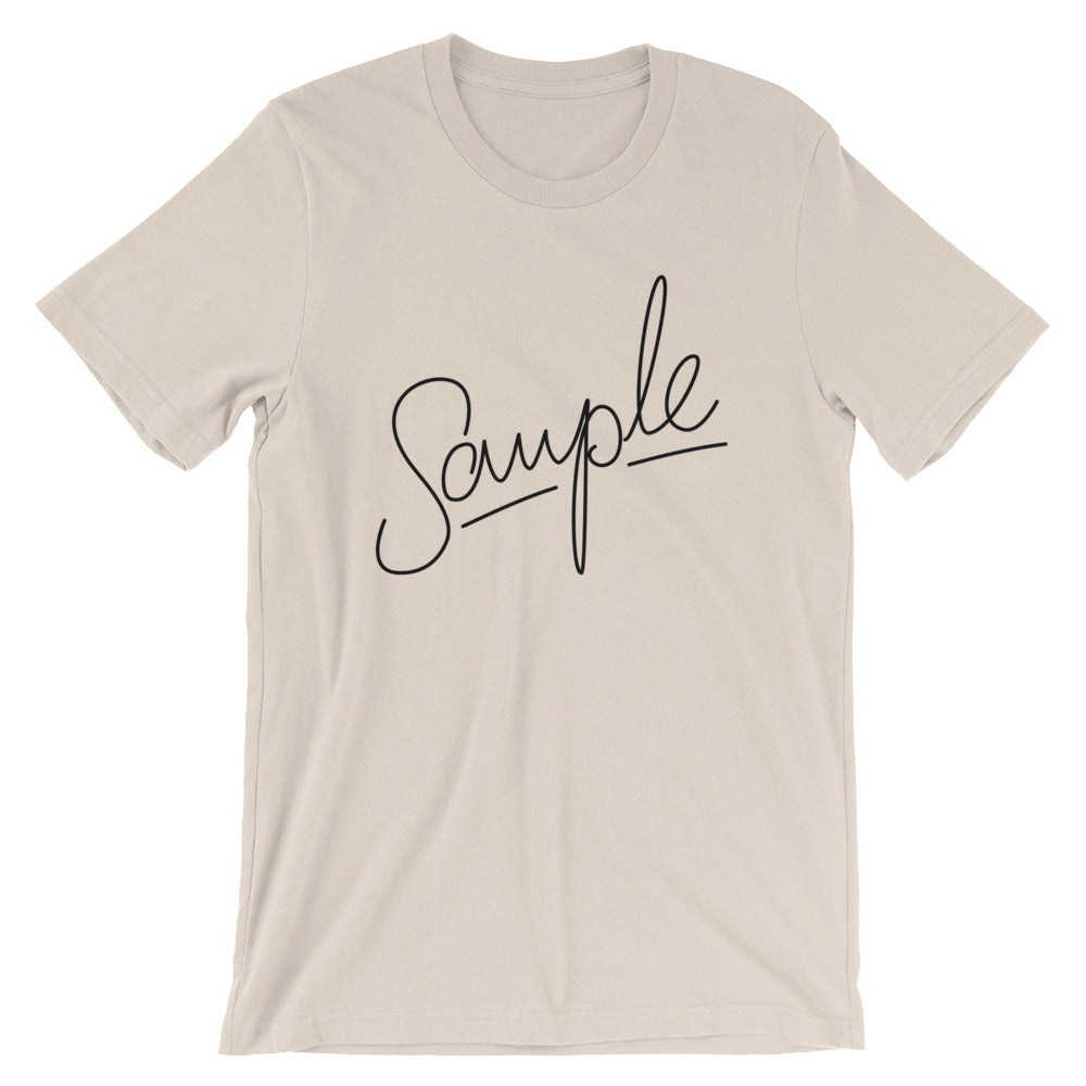 SAMPLE Short-Sleeve Unisex T-Shirt