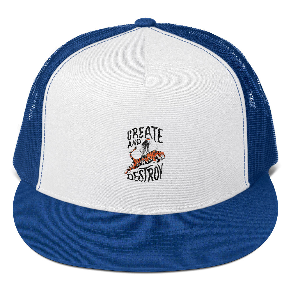 Bones Create Light Trucker Cap
