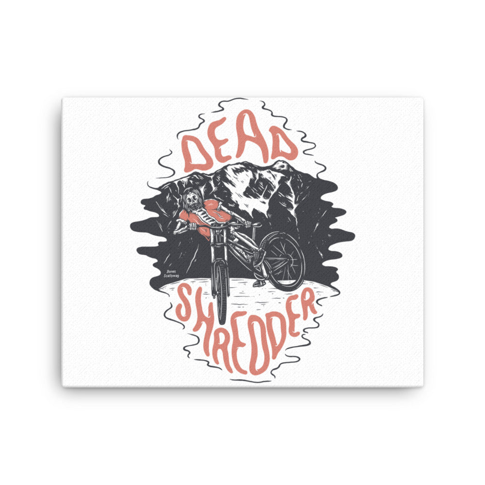 Bones Shredder Canvas