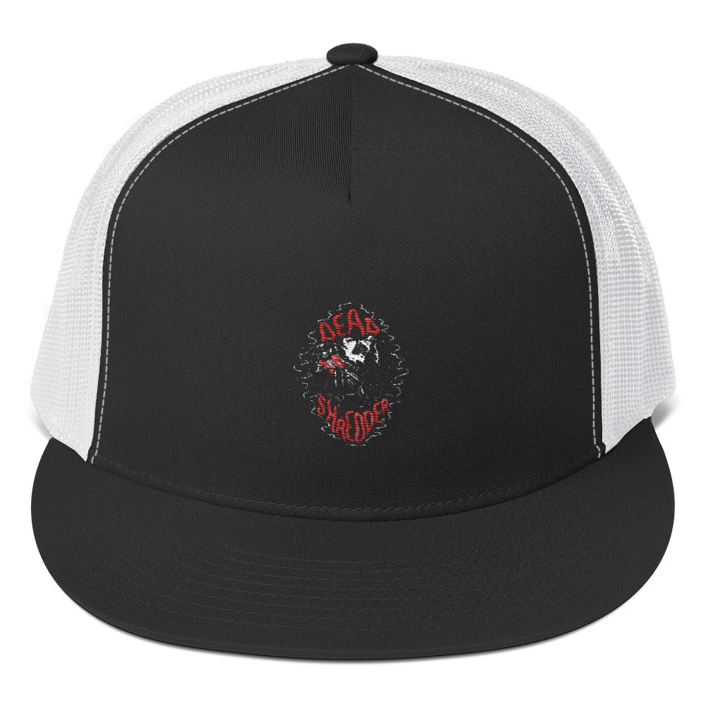 Bones Shredder Dark Trucker Cap