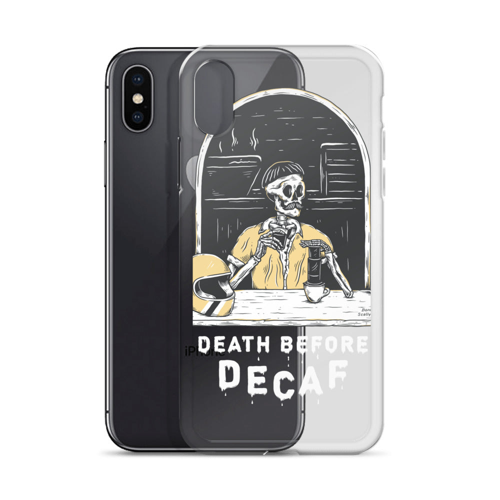 Bones Decaf Dark iPhone Case