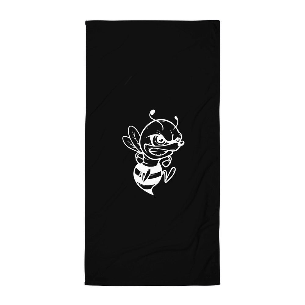 Killabee - Towel - Blk