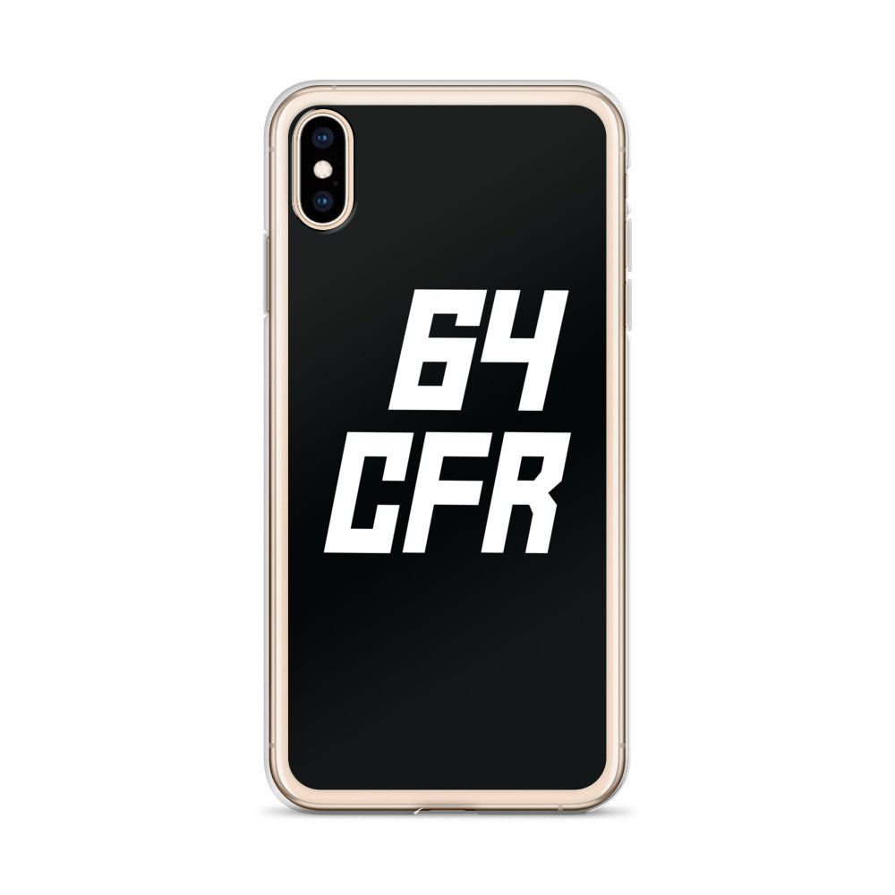 Forsberg - 64 iPhone Case - Blk