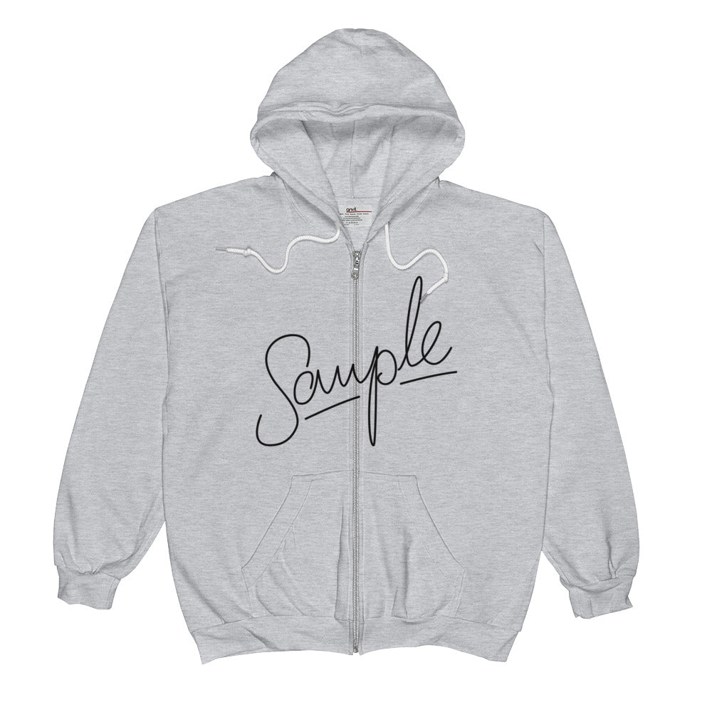 SAMPLE Light Unisex  Zip Hoodie