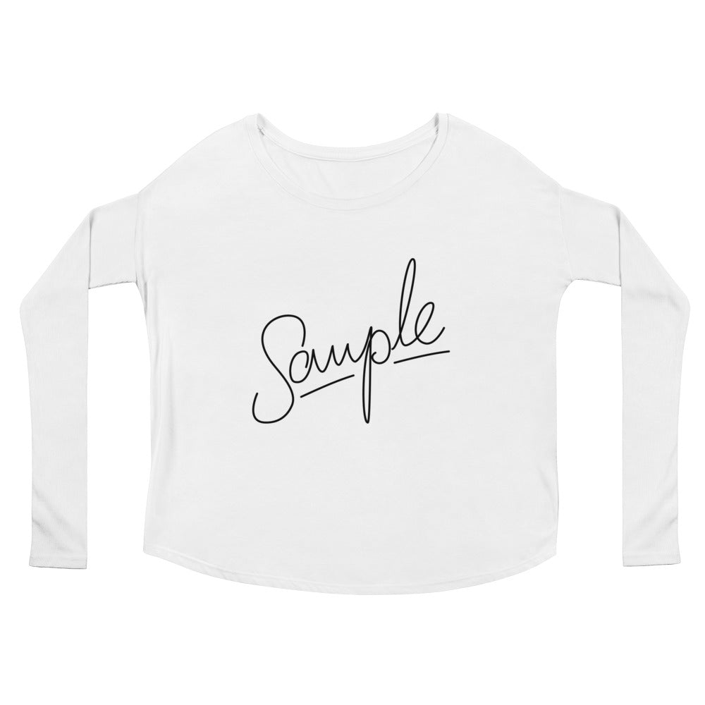 SAMPLE Light Ladies' Long Sleeve Tee